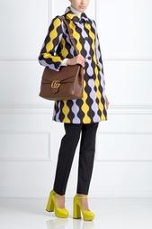 Пальто с принтом Afrodite Vivetta
