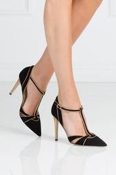 Разноцветные Замшевые туфли Baylee Diane von Furstenberg
