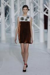 Платье-мини Delpozo