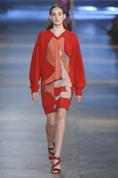 Платье из шерсти и кашемира Christopher Kane