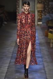 Шелковое платье Cameron Erdem