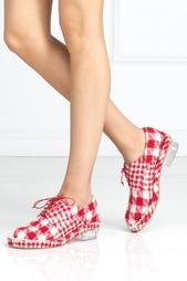 Ботинки из шерсти и хлопка Simone Rocha