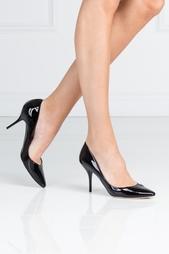 Черные Туфли из лакированной кожи Mei Jimmy Choo