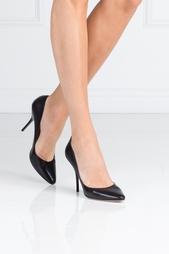 Черные Кожаные туфли Mitchel Jimmy Choo