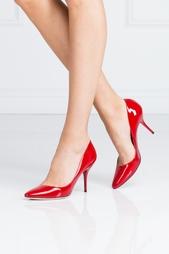 Красные Туфли из лакированной кожи Mei Jimmy Choo