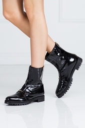 Ботинки из лакированной кожи Haze Jimmy Choo