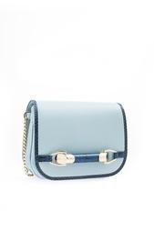 Кожаная сумка Zadie Jimmy Choo