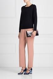 Шерстяные брюки Delpozo