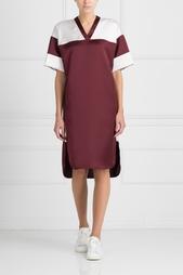 Платье с V-образным вырезом T by Alexander Wang