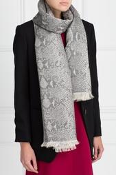 Хлопковый шарф Diane von Furstenberg
