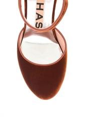 Туфли из велюра Rochas