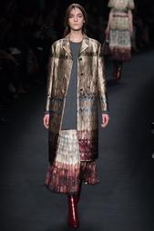Пальто с принтом Valentino