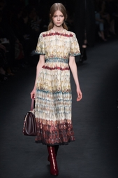 Платье с принтом Valentino