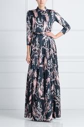 Шелковое платье Alexander Terekhov