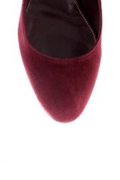 Замшевые туфли Sergio Rossi