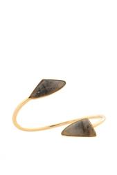 Позолоченный браслет из латуни с лабрадоритом Lizzie Fortunato