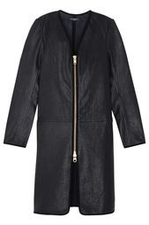 Кожаное пальто Bruuns Bazaar