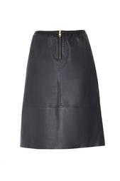 Кожаная юбка Bruuns Bazaar