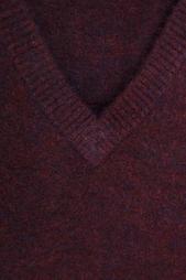 Пуловер с V-образным вырезом American Retro