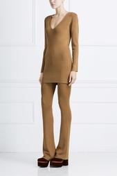 Однотонное платье American Retro