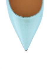 Туфли из металлизированной кожи Jimmy Choo