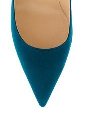 Голубые Замшевые туфли Jimmy Choo