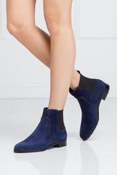 Замшевые ботинки Sergio Rossi