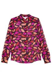 Шелковая блузка Mariah Diane von Furstenberg