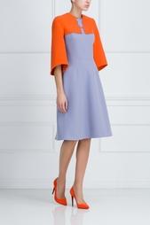 Платье с принтом Vivetta