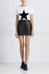 Кожаная юбка Bella Freud