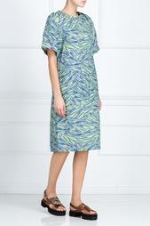 Платье из хлопка и шелка Alena Akhmadullina