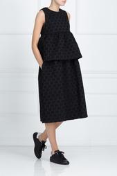 Платье с баской Edit