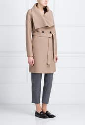 Шерстяное пальто Harris Wharf London