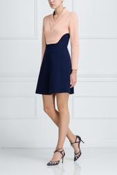 Платье с V-образным вырезом Cedric Charlier