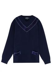 Шерстяной пуловер Derek Lam