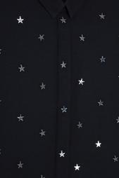 Однотонная блузка Anthony Vaccarello