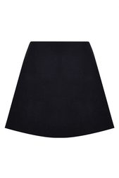 Однотонная юбка-трапеция Valentino