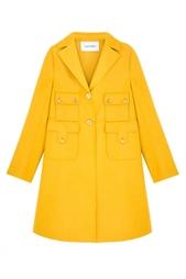 Однотонное пальто Valentino