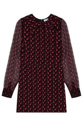 Платье из шелка и хлопка Au Jour Le Jour
