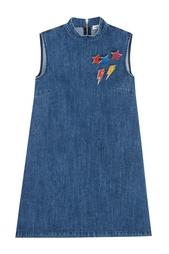 Платье из денима Au Jour Le Jour