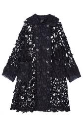 Хлопковое пальто Comme des Garcons