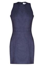 Платье из денима Victoria Beckham