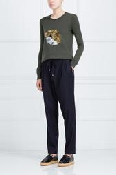 Шерстяные брюки 10 Crosby Derek Lam