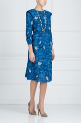 Шелковое платье Alena Akhmadullina