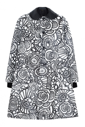 Пальто с принтом Comme des Garcons