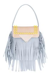 Кожаная сумка Sara Battaglia