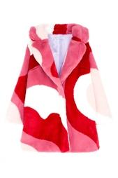 Пальто с принтом Vivetta