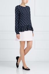 Блузка с принтом BZR by Bruuns Bazaar