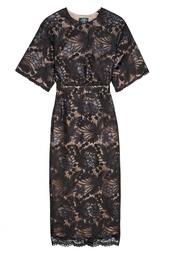 Кружевное платье с пайетками Alena Akhmadullina