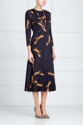Платье с принтом Alena Akhmadullina